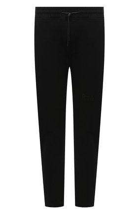 Мужской хлопковые брюки RTA черного цвета, арт. MF0213-0135BLK2 | Фото 1