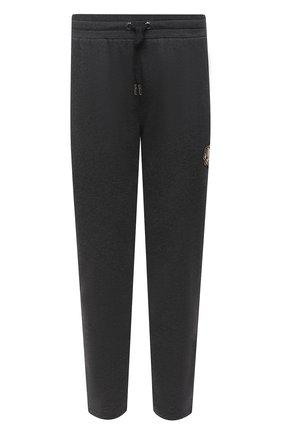 Мужской хлопковые брюки DOLCE & GABBANA темно-серого цвета, арт. GW3EAZ/G7XSI | Фото 1
