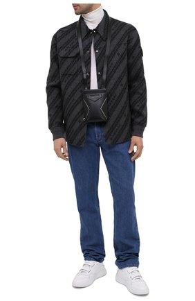 Мужская кожаная сумка antigona GIVENCHY черного цвета, арт. BKU00XK115 | Фото 2