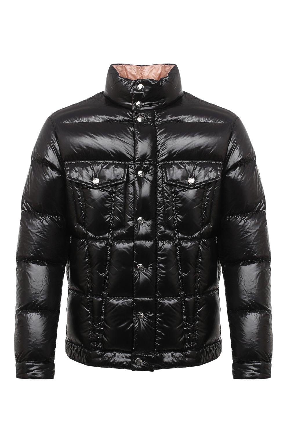 Мужская пуховая куртка montmirail MONCLER черного цвета, арт. F2-091-1A567-00-C0613 | Фото 1 (Кросс-КТ: Куртка, Пуховик; Мужское Кросс-КТ: пуховик-короткий, Пуховик-верхняя одежда, Верхняя одежда; Рукава: Длинные; Материал внешний: Синтетический материал; Материал подклада: Синтетический материал; Длина (верхняя одежда): Короткие; Материал утеплителя: Пух и перо; Стили: Кэжуэл)