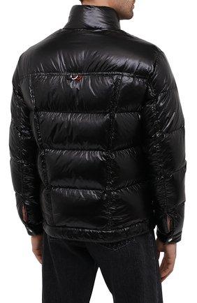 Мужская пуховая куртка montmirail MONCLER черного цвета, арт. F2-091-1A567-00-C0613 | Фото 4 (Кросс-КТ: Куртка, Пуховик; Мужское Кросс-КТ: пуховик-короткий, Пуховик-верхняя одежда, Верхняя одежда; Рукава: Длинные; Материал внешний: Синтетический материал; Материал подклада: Синтетический материал; Длина (верхняя одежда): Короткие; Материал утеплителя: Пух и перо; Стили: Кэжуэл)