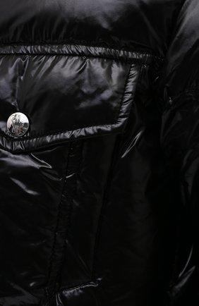 Мужская пуховая куртка montmirail MONCLER черного цвета, арт. F2-091-1A567-00-C0613 | Фото 5 (Кросс-КТ: Куртка, Пуховик; Мужское Кросс-КТ: пуховик-короткий, Пуховик-верхняя одежда, Верхняя одежда; Рукава: Длинные; Материал внешний: Синтетический материал; Материал подклада: Синтетический материал; Длина (верхняя одежда): Короткие; Материал утеплителя: Пух и перо; Стили: Кэжуэл)