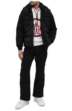 Мужской брюки-карго MONCLER GRENOBLE черного цвета, арт. F2-097-2A705-40-53066 | Фото 2