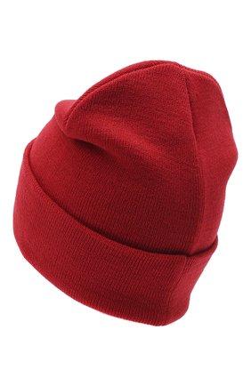 Мужская шапка COMME DES FUCKDOWN красного цвета, арт. CDFA500 | Фото 2