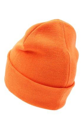 Мужская шапка COMME DES FUCKDOWN оранжевого цвета, арт. CDFA500 | Фото 2