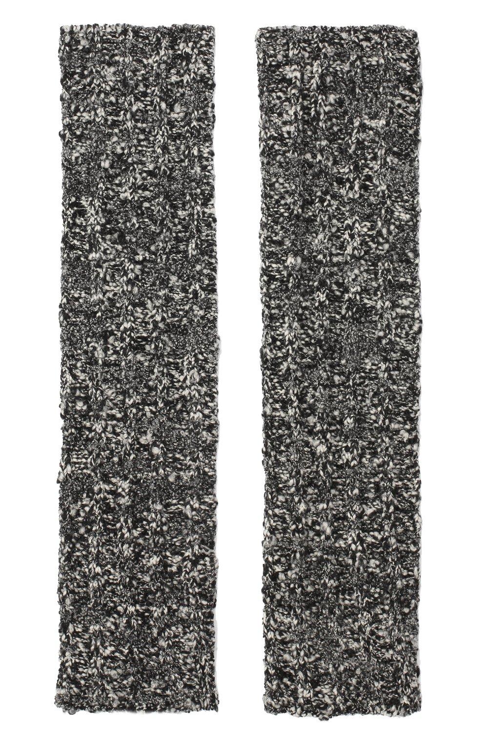 Мужские шерстяные митенки DOLCE & GABBANA серого цвета, арт. GXD49T/JAM60 | Фото 2