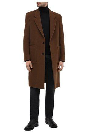 Мужские кожаные челси TOD'S черного цвета, арт. XXM62C00P200LW | Фото 2