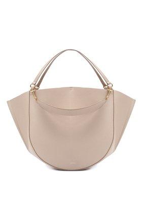 Женский сумка-тоут mia WANDLER бежевого цвета, арт. MIA T0TE | Фото 1