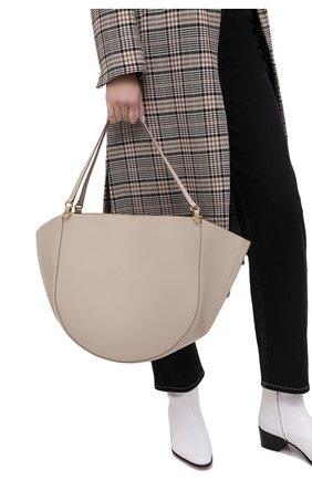 Женский сумка-тоут mia WANDLER бежевого цвета, арт. MIA T0TE | Фото 2