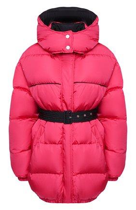 Женский пуховая куртка MSGM фуксия цвета, арт. 2941MDH04D 207655 | Фото 1
