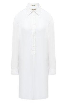 Женская рубашка YOHJI YAMAMOTO белого цвета, арт. FB-B54-201   Фото 1