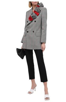Женский шерстяной жакет DOLCE & GABBANA светло-серого цвета, арт. F29IGZ/FQ2LZ | Фото 2