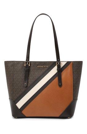 Женский сумка-тоут aria MICHAEL MICHAEL KORS коричневого цвета, арт. 30F0GXAT3V | Фото 1
