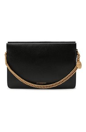 Женская сумка cross 3 GIVENCHY черного цвета, арт. BB50A7B07L | Фото 1