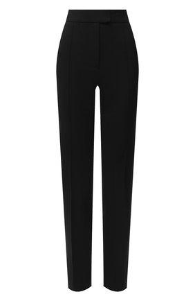 Женские брюки из шерсти и вискозы OFF-WHITE черного цвета, арт. 0WCA118F20FAB0011000   Фото 1