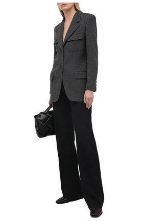 Женский шерстяной жакет BARBARA BUI серого цвета, арт. W1224WAR   Фото 2