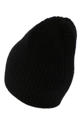 Женская шерстяная шапка MONCLER черного цвета, арт. F2-093-9Z744-00-A9197 | Фото 2