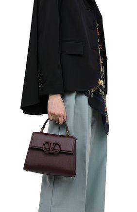 Женская сумка valentino garavani vsling VALENTINO бордового цвета, арт. UW0B0F53/KGW | Фото 2