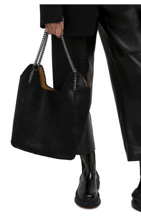 Женский сумка-тоут STELLA MCCARTNEY черного цвета, арт. 700107/W8719 | Фото 2