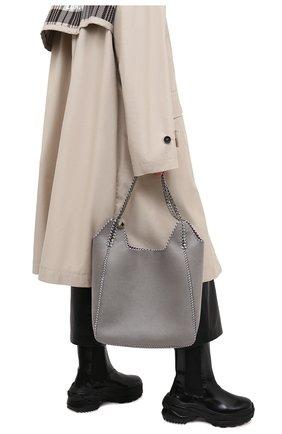 Женский сумка-тоут STELLA MCCARTNEY светло-серого цвета, арт. 700107/W8719 | Фото 2