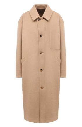 Женское шерстяное пальто TANAKA бежевого цвета, арт. ST-19 | Фото 1