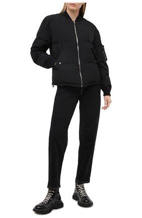 Женский пуховая куртка TANAKA черного цвета, арт. ST-25 | Фото 2