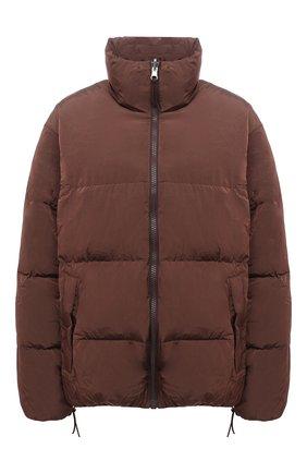 Женский пуховая куртка TANAKA коричневого цвета, арт. ST-42 | Фото 1