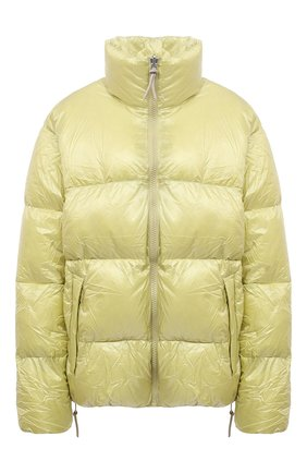 Женский пуховая куртка TANAKA желтого цвета, арт. ST-42 | Фото 1