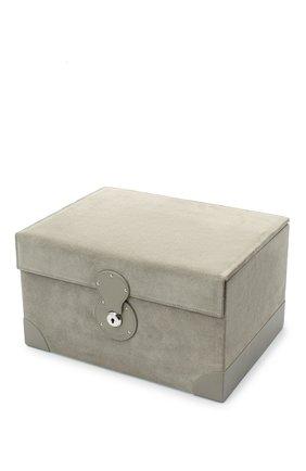 Шкатулка brooke RALPH LAUREN серого цвета, арт. 682619866002 | Фото 2