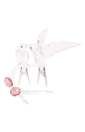 Мужского скульптура swallows SWAROVSKI прозрачного цвета, арт. 5475566 | Фото 2
