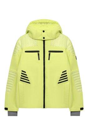 Детского куртка с капюшоном POIVRE BLANC светло-зеленого цвета, арт. 279613   Фото 1