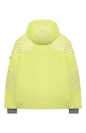 Детского куртка с капюшоном POIVRE BLANC светло-зеленого цвета, арт. 279613   Фото 2