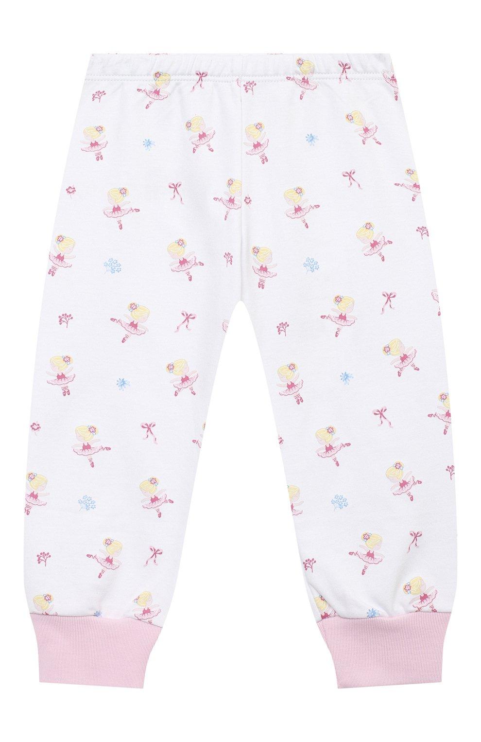 Детский хлопковая пижама KISSY KISSY розового цвета, арт. KG604831I   Фото 2