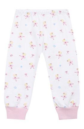 Детский хлопковая пижама KISSY KISSY розового цвета, арт. KG604831I | Фото 2
