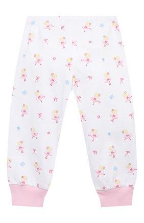 Детский хлопковая пижама KISSY KISSY розового цвета, арт. KG604831I   Фото 3