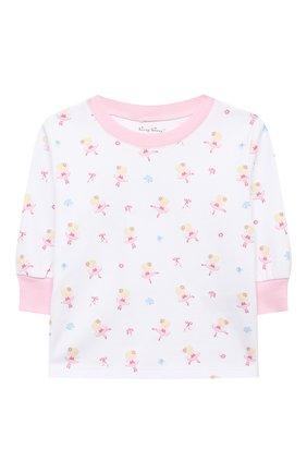 Детский хлопковая пижама KISSY KISSY розового цвета, арт. KG604831I   Фото 4