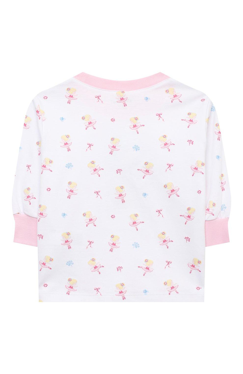 Детский хлопковая пижама KISSY KISSY розового цвета, арт. KG604831I   Фото 5