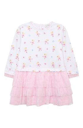 Женский комплект из платья и брюк KISSY KISSY розового цвета, арт. KGU04994I | Фото 2