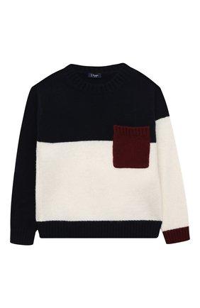 Детский шерстяной пуловер IL GUFO разноцветного цвета, арт. A20MA327EM220/5A-8A | Фото 1