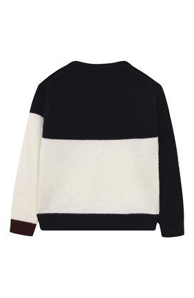 Детский шерстяной пуловер IL GUFO разноцветного цвета, арт. A20MA327EM220/5A-8A | Фото 2