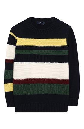Детский шерстяной пуловер IL GUFO разноцветного цвета, арт. A20MA328EM220/2A-4A | Фото 1
