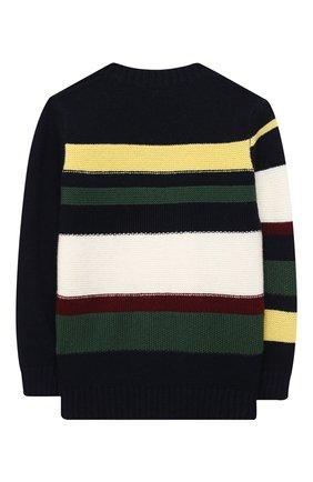 Детский шерстяной пуловер IL GUFO разноцветного цвета, арт. A20MA328EM220/2A-4A | Фото 2