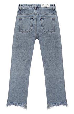 Детские джинсы NATASHA ZINKO голубого цвета, арт. FW20DU0305-87/3-8   Фото 2
