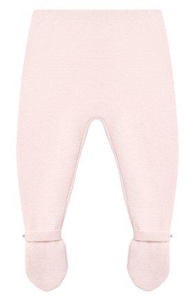 Детские кашемировые ползунки LES LUTINS PARIS светло-розового цвета, арт. 20H051/CESAR | Фото 1