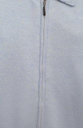 Детский кашемировый комбинезон BABY T голубого цвета, арт. 20AIC881TZ/1M-12M | Фото 3