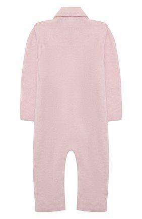 Детский кашемировый комбинезон BABY T розового цвета, арт. 20AIC881TZ/18M-3A | Фото 2