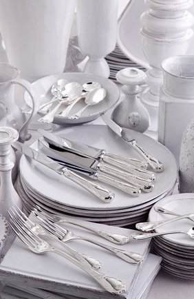 Ложка чайная marly silver plated CHRISTOFLE серебряного цвета, арт. 00038004 | Фото 2