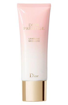 Очищающая мицеллярная пенка для лица dior prestige DIOR бесцветного цвета, арт. C099600035 | Фото 1