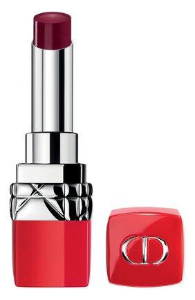 Женская увлажняющая помада для губ rouge dior ultra rouge, 783 ультра я DIOR бесцветного цвета, арт. C003800783   Фото 1