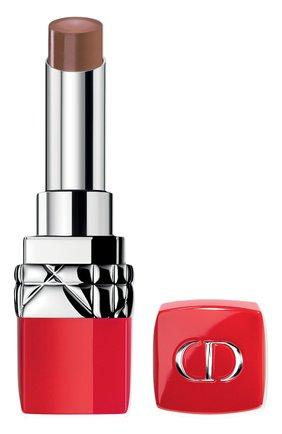 Женская увлажняющая помада для губ rouge dior ultra rouge, 823 ультраамбизиозный DIOR бесцветного цвета, арт. C003800823   Фото 1